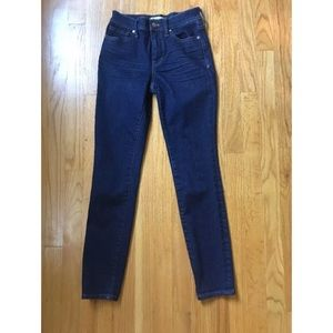 """Madewell 9"""" High Rise skinny jeans size 24"""